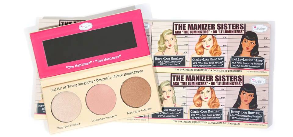 theBalm  -  theManizer姐妹Luminizers调色板