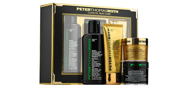 PETER THOMAS ROTH  Black and Gold Kit
